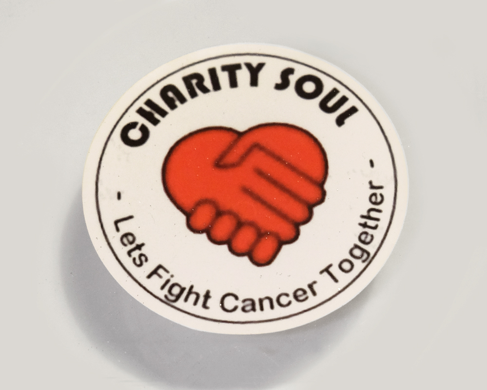 Charity Soul car window sticker