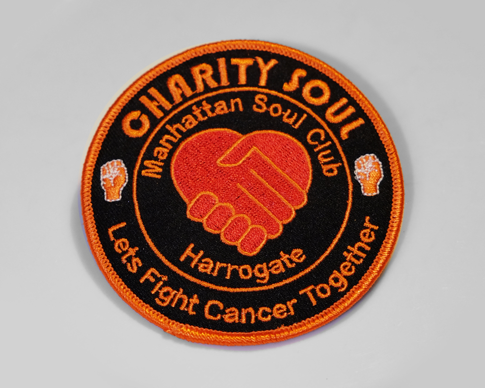 Charity Soul Manhatten Club Patch