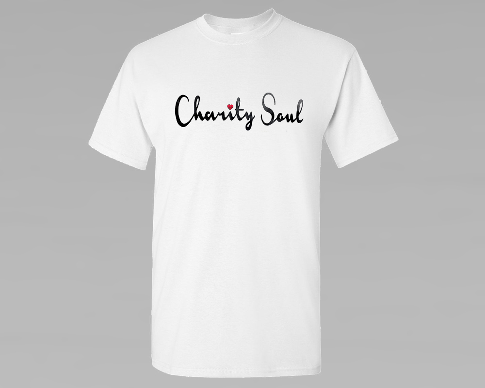 Charity Soul Cotton T-Shirt - White