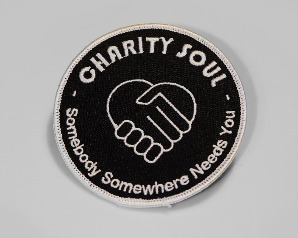 Charity Soul Black Patch
