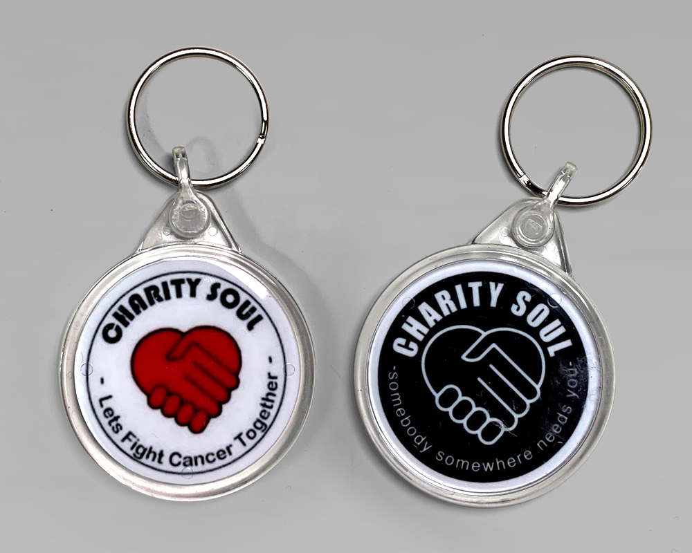 Charity Soul Key Ring