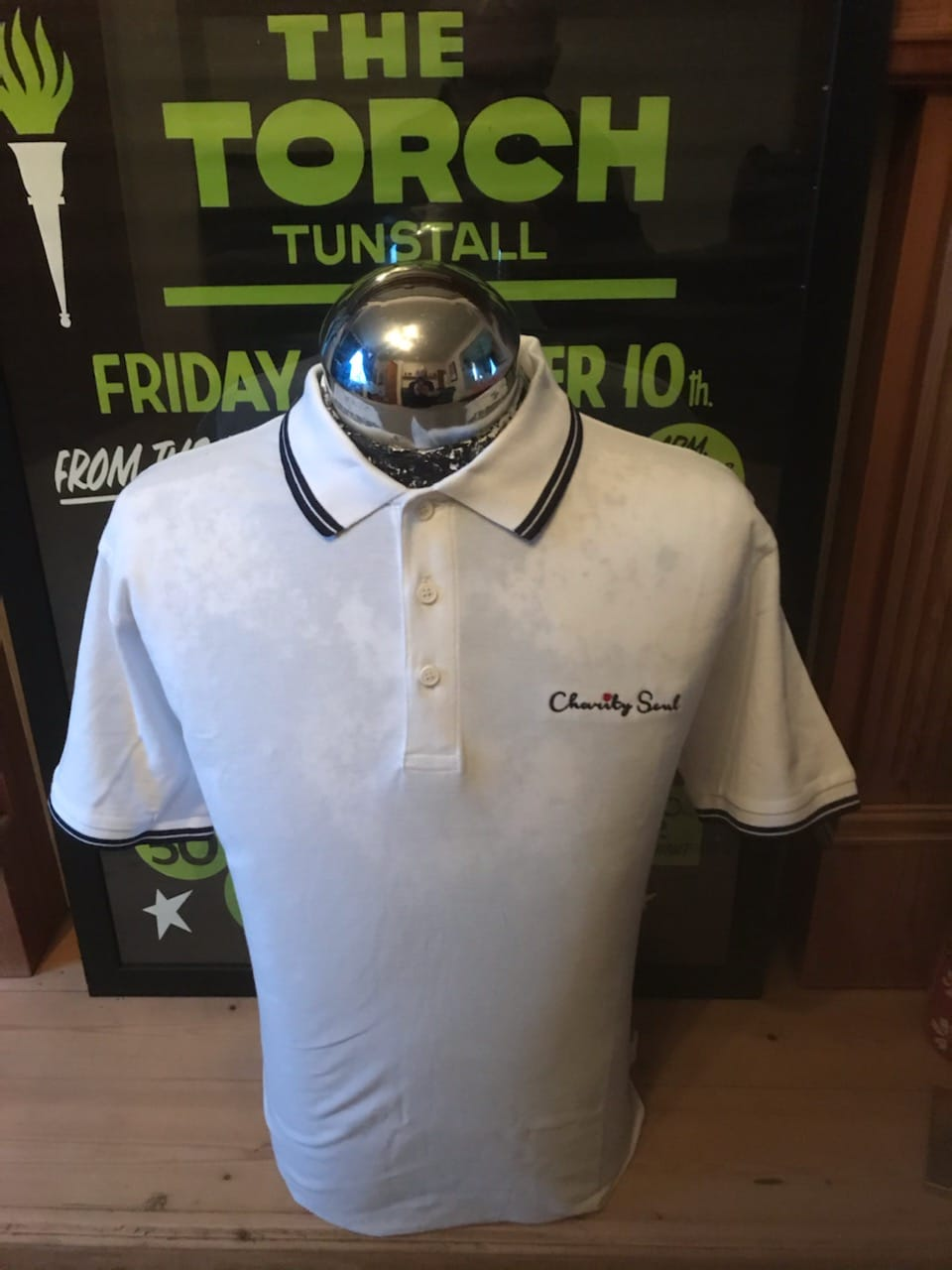 White Charity Soul Polo Shirt